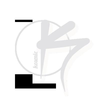 logo kosmic dungeon blanc