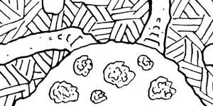 geomorph cavern rpg map