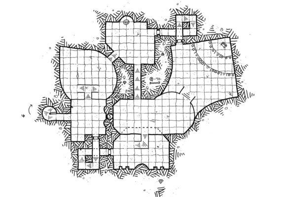 Kosmic Dungeon Fantasy Cartography